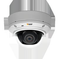 監視カメラAxis【3メガピクセル デイナイト PoE 屋外 I/O】 ドームカメラ M3026-VE