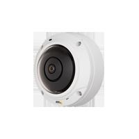監視カメラAxis【5メガピクセル デイナイト PoE 屋外 I/O】 ドームカメラ M3027-PVE