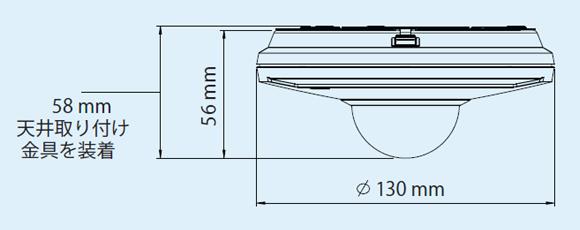 IPカメラ Axis ネットワー  クカメラ M5013 製品図解