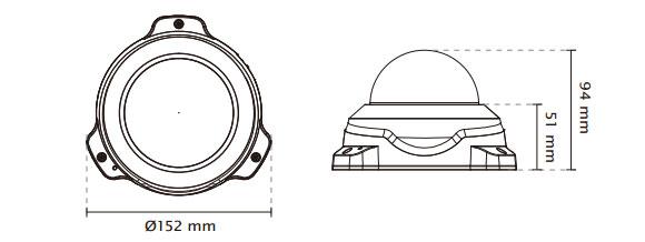 IPカメラ VIVOTEK ネットワークカメラ FD8154V 製品図解
