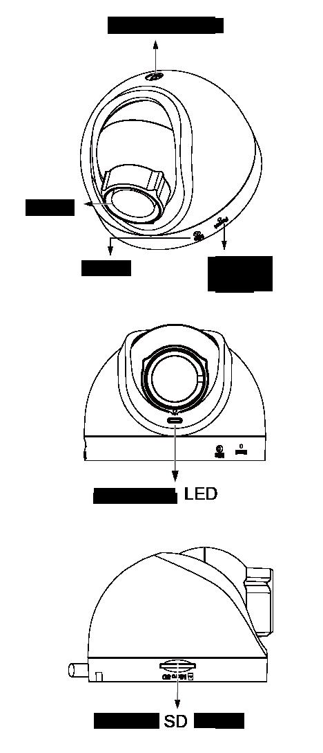 IPカメラ VIVOTEK ネットワークカメラ FD8168 製品図解