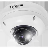 監視カメラVIVOTEK【1.3メガ WDR デイナイト PoE 屋外 音声双方向 I/O】 ドームカメラ FD8355EHV