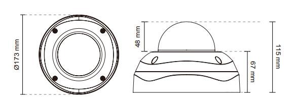 IPカメラ VIVOTEK ネットワークカメラ FD8355EHV 製品図解
