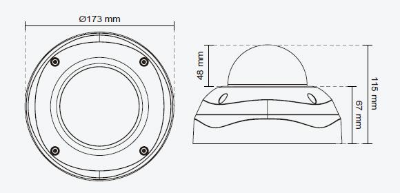 IPカメラ VIVOTEK ネットワークカメラ FD8362E 製品図解
