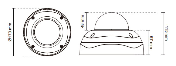 IPカメラ VIVOTEK ネットワークカメラ FD8365EHV 製品図解