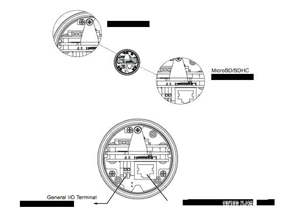 IPカメラ VIVOTEK ネットワークカメラ IB8354-C 製品図解