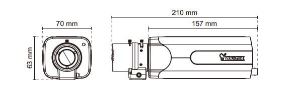 IPカメラ VIVOTEK ネットワークカメラ IP8155HP 製品図解