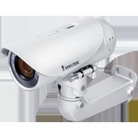 監視カメラVIVOTEK【1.3メガ WDR デイナイト PoE 屋外 音声双方向 I/O】 固定カメラ IP8355EH