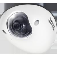 監視カメラVIVOTEK【1.2メガ WDR PoE 屋外 音声双方向 I/O】 ドームカメラ MD8531H