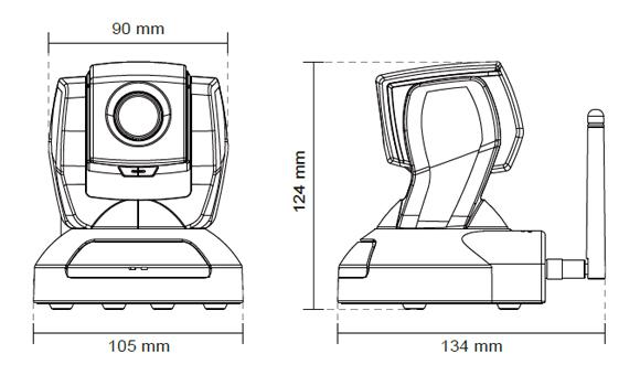 IPカメラ VIVOTEK ネットワークカメラ PZ8111/8121 製品図解