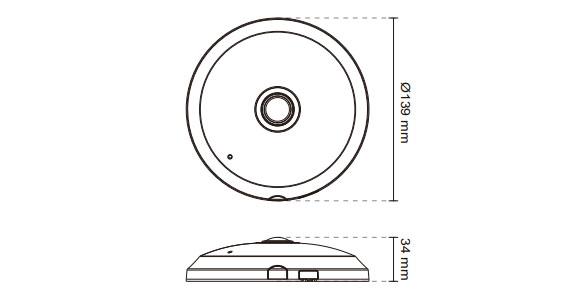 IPカメラ VIVOTEK ネットワークカメラ SF8174 製品図解