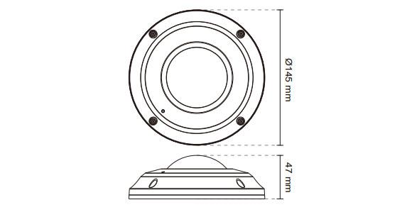 IPカメラ VIVOTEK ネットワークカメラ SF8174V 製品図解